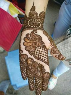 Trend Of Latest Mehndi Designs For Hands Images