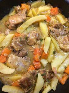 Κοτόπουλο φιλέτο λεμονάτο Greek Recipes, Pot Roast, Food And Drink, Sweets, Beef, Traditional, Chicken, Cooking, Ethnic Recipes