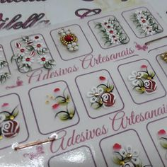 Adesivos artesanais Criações Vilela enviamos para todo o Brasil informações no Whatsapp 43 99869 6424