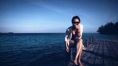 Bahagia! #paradise #wonderfulindonesia #wonderfulisland