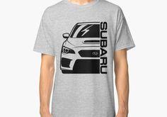 Desconocido Camiseta Subaru Impreza