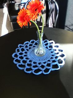 How to make a beginner doily