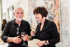 Goran e Tiziana Viler <3 Ecco le foto del primo evento dedicato all'arte e organizzato nella Goran Viler Hair SPA di #Trieste #art http://www.goranviler.com