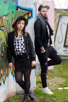 Urban Style - Street Art - Couple Look - Infini-T Blog Bordeaux