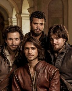 The Musketeers Radio Times January 2014 photos and outtakes [three photos]