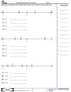 math worksheet : fractions common cores and the mon on pinterest : Estimate Fractions Worksheet