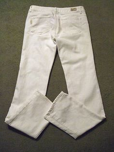#paigepremiumdenim #designerjeans #whitejeans ready for a cruise! $34.99  http://stores.ebay.com/NYC-Fitness-Family-and-Finds
