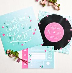 All You Need Is Love Wedding Suite One Plus Design These Are My Invites