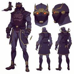 Talon warrior from Batman vs Robin