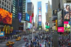 Things to do in New York City, Times Square