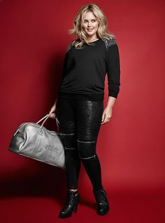 "Rebel Wilson's Plus-Size Collection Is Not What ""Your Older Aunt Would Wear To A Wedding"" #refinery29  http://www.refinery29.com/2015/11/96780/rebel-wilson-torrid-collaboration#slide-4  ..."