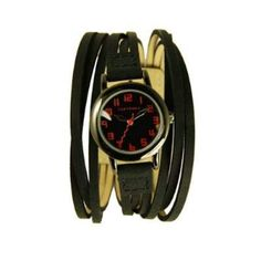Fireworks Gallery - Jewelry - Watches - Leather Band - Gaucho Watch - Purple