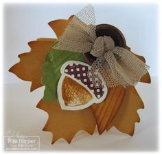Stampin' Up! Fall  by Rae Harper at Wild West Paper Arts