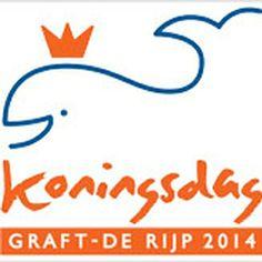 Koningin Willem Alexander bezoekt in 2014 Graft - de Rijp
