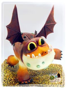 Gravity Defying Structured Cake : How To Train Your Dragon To Do A Handstand! - Cake by Pauline (Polly) Soo - Pauline Bakes The Cake! Anti Gravity Cake, Gravity Defying Cake, How To Train Your, How Train Your Dragon, Cupcakes, Cupcake Cakes, Gorgeous Cakes, Amazing Cakes, Bolo Artificial