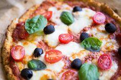 Schnelles Mittagessen Blumenkohl Pizza