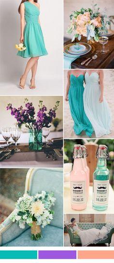 101 best 2016 spring summer wedding colors images on pinterest