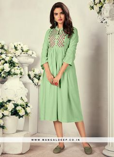 31064 Latest Kurti Design LATEST KURTI DESIGN | IN.PINTEREST.COM FASHION #EDUCRATSWEB