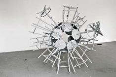 e7df1 Molecule 2 640x428 Creative Installations by Michel de Broin