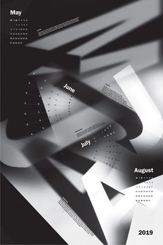How can you use different mediums to create a unique calendar? Graphic Design Posters, Graphic Design Typography, Graphic Design Inspiration, Business Poster, Business Card Psd, Cover Design, Plakat Design, Magazine Layout Design, Composition Design