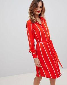 19b2390961a573 Y.A.S | Y.A.S Striped Shirt Dress Striped Shirt Dress, Women's Fashion  Dresses, Dress Outfits