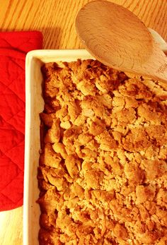 #GlutenFree Snickerdoodle Apple Crisp....how can you say no... :)