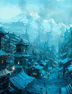 Cidade Gelada de Nevaska