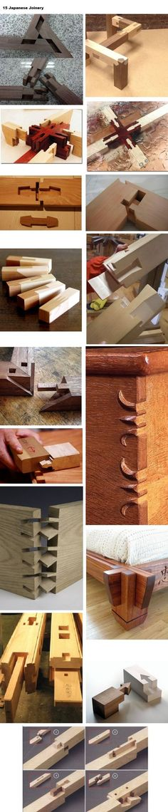 15 Japanese Joinery