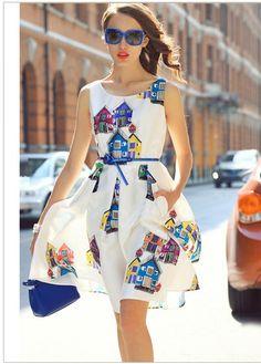 Яркие платья для неярких девушек