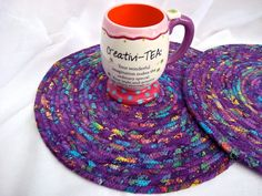 Quilted Place Mats Handmade Easter Trivets by WexfordTreasures, $29.99