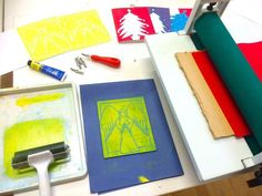 Christmas Card Printing Workshop