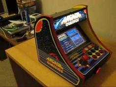 Arcade Classics: Small Bartop Mame Arcade Cabinet