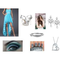 Untitled #10 by arrianamarie on Polyvore featuring La Femme, GUESS and DKNY