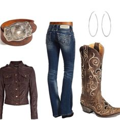 the boots and belt please! but diff shirt lol I'd be good with a plain white t shirt