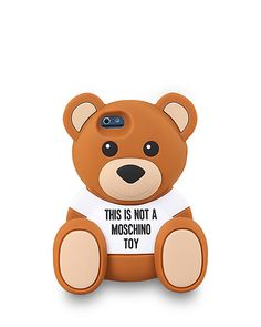 Moschino Teddy Bear Cam iPhone 6 Case