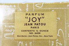 "Parfum ""JOY"" Jean Patou Paris 1/4 Ounce, New - shopgoodwill.com"