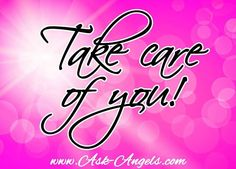 Even when you get busy... Take the time to take care of yourself.   <3