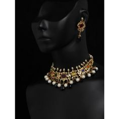 Design no. 8 b.820....Rs. 8900 - Online Shopping for Necklaces by chaahat fashion jewellery