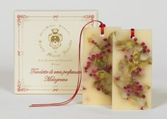 Divine hostess gift, pomegranate scented wax tablets for closet, drawers/www.miamicurated.com