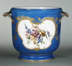 Wine cooler, 1753  French; Vincennes  Soft-paste porcelain