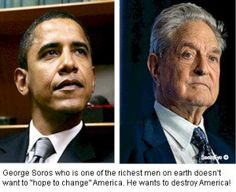 """George Soros Says He Feels No Remorse For Collaborating With Nazis During WWII to Send His Fellow Jews to the Death Camps, and Steal Their Property """"Soros advises Obama to use forceful measures to override the will of the people...""""."""
