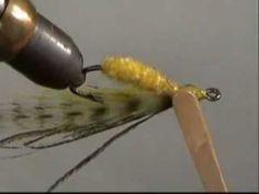 Bendback fly using rotary vise