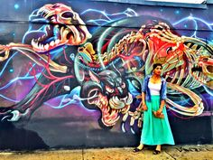 Wynwood Walls, Miami FL outdoor art