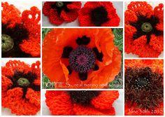 #crochet #poppy #flower
