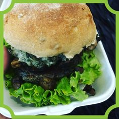 Hemp Seed Burger @laura_zabo says its better than a normal burger :) every bite is a gift from life  super tasty vegan healthy. Afraid to get fat because I CAN'T STOP EAT ANYMORE. VEGAN FOOD IS THE BEST :)