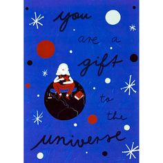 You Are A Gift Print – wunderbär