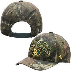 Men's Baylor Bears BU camo hat