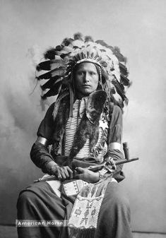 Chief American Horse,   Oglala Sioux