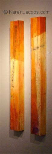 pylons - KAREN JACOBS contemporary and abstract paintings