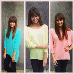 Ok ladies, these jersey tops are going to fly out of here!! They are so comfortable and come in three beautiful colors!! Aqua, yellow, or peach $32.95